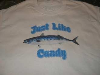 "Mackerel Tee ""Just Like Candy"""